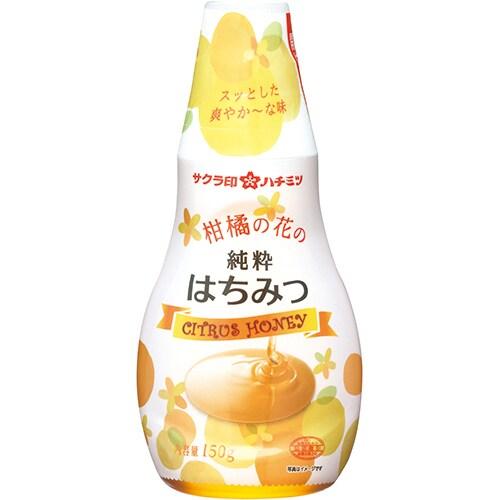 サクラ印 柑橘の花の純粋はちみつ 150g [蜂蜜]