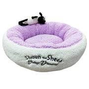 Sheep Dreams ショーン ラウンドベッド M パープル [犬/猫用 ベッド]
