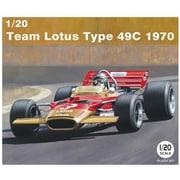 20006 チーム ロータス タイプ49C 1970 [1/20スケール カーモデルシリーズ]