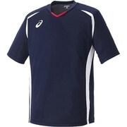 XS1140 50 ゲームシャツHS Sサイズ ネイビー