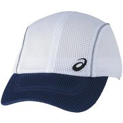 ランニングメッシュキャップ XXC203 0150_WHxネイビー Lサイズ [ランニング帽子]