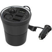 EM160 [モニターUSBカップソケット 3ポート搭載(3ポート合計4.8A)]