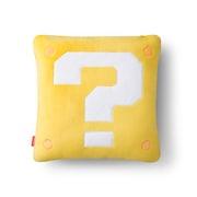 スーパーマリオ ホーム&パーティ クッション&ミニブランケット (ハテナブロック/スーパーキノコ) [キャラクターグッズ]