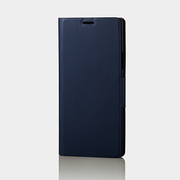 PM-SCN9PLFUNV [Galaxy Note 9 ソフトレザーカバー 薄型 磁石付 ネイビー]