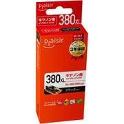 PLE-C380XLB [互換インクカートリッジ BCI-380XLPGBK対応 ブラック(顔料)]