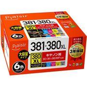 PLE-C381-6P [互換インクカートリッジ BCI-381+380/6MP対応]