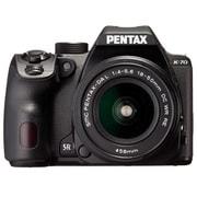 PENTAX K-70 18-50REキット ブラック [ボディ+交換レンズ「PENTAX-DA L 18-50mm F4-5.6 DC WR RE」]