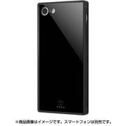 IQ-P7K1B/B [iPhone 8/7 ガラスケース ブラック]