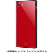 IQ-P7K1B/R [iPhone 8/7 ガラスケース レッド]