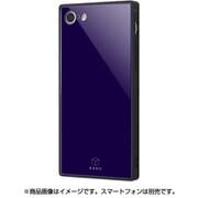 IQ-P7K1B/DN [iPhone 8/7 ガラスケース ネイビー]