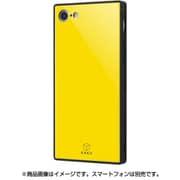 IQ-P7K1B/Y [iPhone 8/7 ガラスケース イエロー]