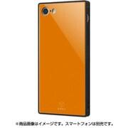 IQ-P7K1B/OR [iPhone 8/7 ガラスケース オレンジ]