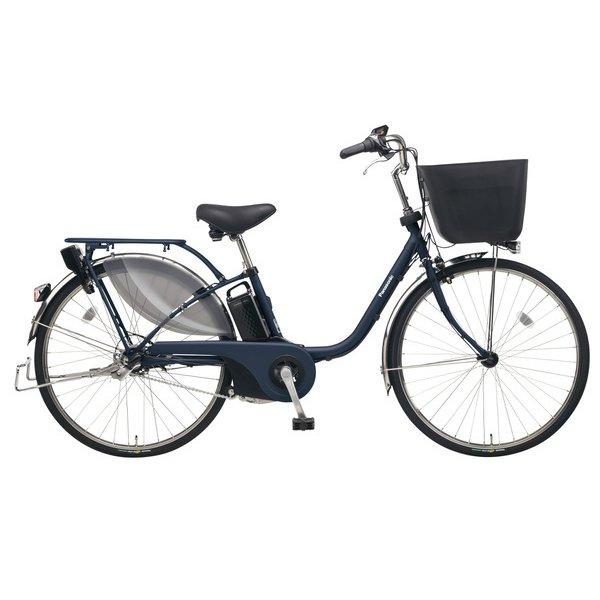 BE-ELE635V [電動アシスト自転車 ビビ・EX26 26型 16Ah 内装3段変速 マットネイビー 2019年モデル]