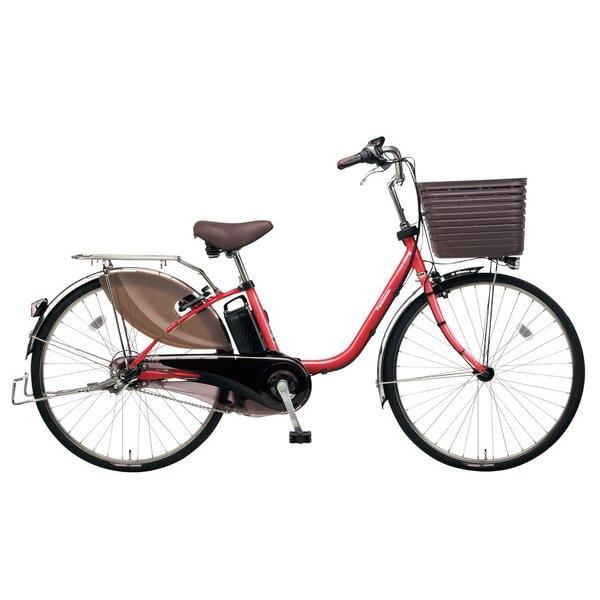 BE-ELD635R2 [電動アシスト自転車 ビビ・DX26 26型 16Ah 内装3段変速 レッドジンジャー 2019年モデル]