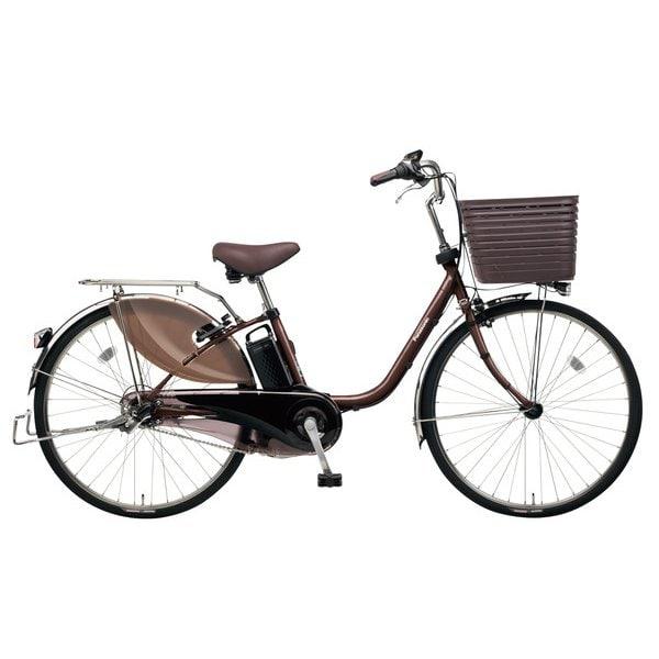 BE-ELD635T2 [電動アシスト自転車 ビビ・DX26 26型 16Ah 内装3段変速 ビターブラウン 2019年モデル]