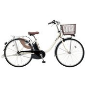 BE-ELL43S [電動アシスト自転車 ビビ・L 24 24型 12Ah 内装3段変速 ウォームシルバー 2019年モデル]