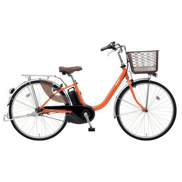 BE-ELL63K [電動アシスト自転車 ビビ・L 26 26型 12Ah 内装3段変速 ラセットオレンジ 2019年モデル]