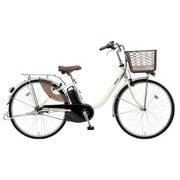 BE-ELL63S [電動アシスト自転車 ビビ・L 26 26型 12Ah 内装3段変速 ウォームシルバー 2019年モデル]