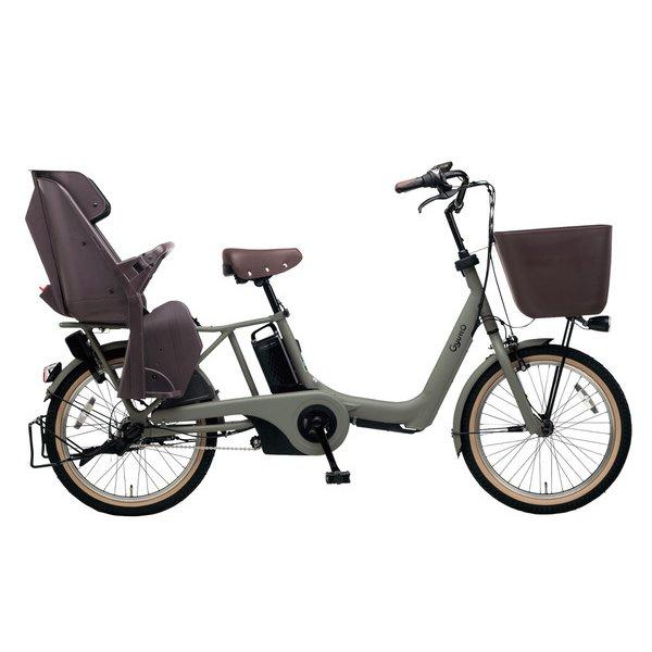 BE-ELAE033G [電動アシスト自転車 ギュット・アニーズ・EX 20型 16Ah 内装3段変速 マットオリーブ 2019年モデル]