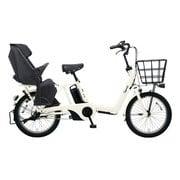 BE-ELAD03F [電動アシスト自転車 ギュット・アニーズ・DX 20型 16Ah 内装3段変速 オフホワイト 2019年モデル]