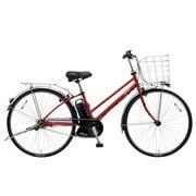BE-ELDT755R [電動アシスト自転車 ティモ・DX 27型 16.0Ah 内装5段変速 フレアレッドパール 2019年モデル]