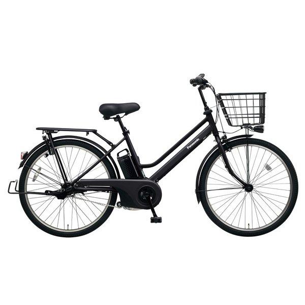 BE-ELST634B2 [電動アシスト自転車 ティモ・S 26型 16Ah 内装3段変速 マットジェットブラック 2019年モデル]