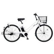BE-ELST634F [電動アシスト自転車 ティモ・S 26型 16Ah 内装3段変速 アクティブホワイト 2019年モデル]