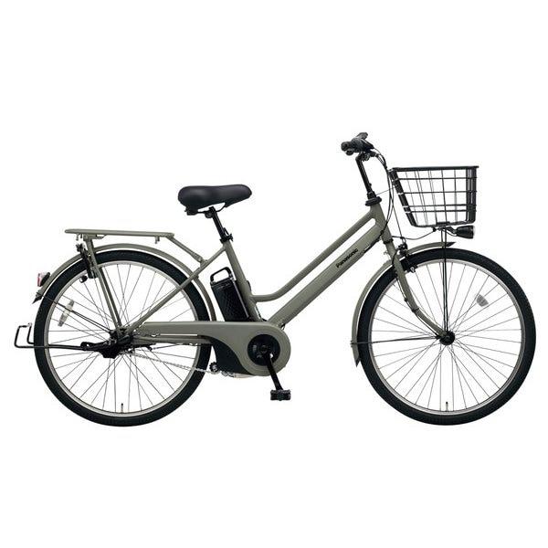 BE-ELST634G [電動アシスト自転車 ティモ・S 26型 16Ah 内装3段変速 マットオリーブ 2019年モデル]