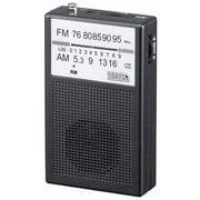 RD21BK [AM・FM ハンディラジオ ブラック]