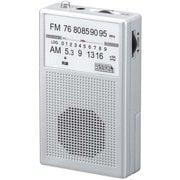 RD21SV [AM・FM ハンディラジオ シルバー]