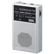 RD31SV [長寿命AM・FM ハンディラジオ シルバー]