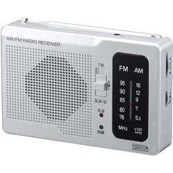 RD32SV [長寿命AM・FM 卓上ラジオ シルバー]