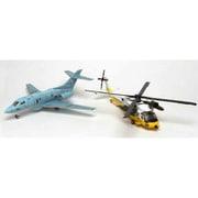 PD-24 よみがえる空 航空自衛隊 UH-60J & U-125A [1/144スケール プラモデル]