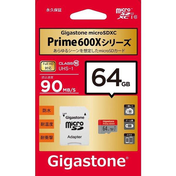 GJMX-64GU190R/microSDカード64G