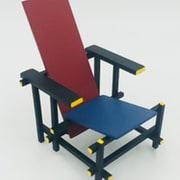 DIC-2 RedBlue Chair