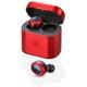 MS-TW2PRD [Bluetooth5.0対応 超軽量 完全ワイヤレスイヤホン レッド]