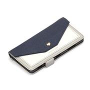 PG-XZ3FP06NV [Xperia XZ3 ダブルフリップカバー スクエア型ポケット ネイビー]