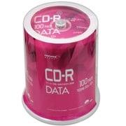 VVDCR80GP100 [CD-R データ用 100枚 スピンドルケース ホワイトプリンタブル]