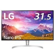 32UL950-W [31.5型 Nano IPS 4Kモニター(3840×2160)/Thunderbolt 3×2 /DisplayHDR 600/DCI-P3 98%/RADEON FreeSync /DAS Mode/PBP/フリッカーセーフ/ハードウエアキャブレーション/スピーカー5W+5W/高さ調節機能]