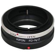 KIPON FDNZ FD-NIK Z [マウントアダプター レンズ側:キヤノンFDマウント/ボディ側:ニコンZマウント]