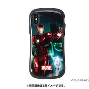 iFace First Class iPhone XS/X用 MARVEL アイアンマン