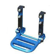 折りたたみ式 軽トラステップ 美昇 ブルー 日本製 アルミフレーム [作業用踏台]