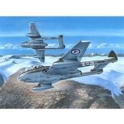 エアクラフトシリーズ SH72281N 英・デハビランド・ヴァンパイアFB Mk.52・スカンジナビア各国軍 [1/72 プラモデル]