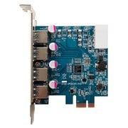 USB3.0RA-P4-PCIE [玄人志向インターフェースカード USB3.0 TypeA 外部4ポート]