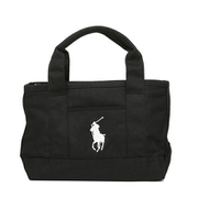 RA100115 Small Tote Black/White Polo Ralph Lauren [トートバッグ 並行輸入品]