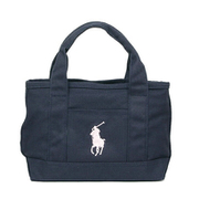 RA100116 Small Tote Navy/Light Pink Polo Ralph Lauren [トートバッグ 並行輸入品]