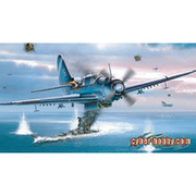 CH5103SP WW.II アメリカ軍 SB2C ヘルダイバー SB2C-4/SB2C-3/A-25A-CS 3in1キット [1/72スケール プラモデル]