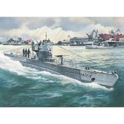 S010 ドイツ Uボート タイプIIB 1943年 [1/350スケール プラモデル]