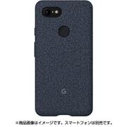 GA00496 [Fabric Case for Google Pixel 3 XL ネイビー]