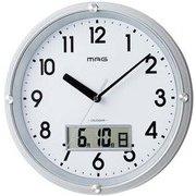 W-723SM-Z [カレンダー機能付き掛け時計 デイトタイム]
